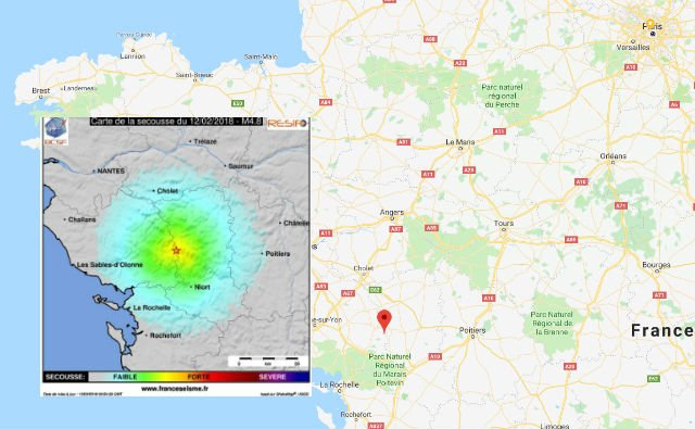 'It was like an explosion': Western France shaken by 4.8 magnitude earthquake