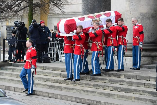 French-born Prince Henrik given private funeral in Denmark