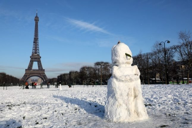 Northern France and Paris region braced for more snow on Friday