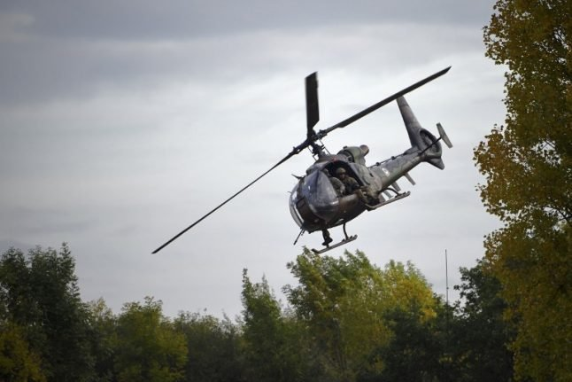 'Five dead' after two army helicopters crash in France