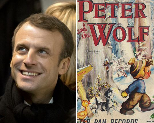 Macron to make theatrical debut as president in Peter and the Wolf