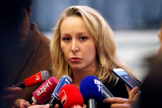 Marine Le Pen's niece to join Trump and Farage at right-wing US rally