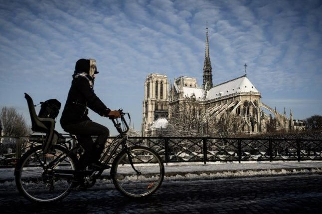Five things NOT to do during France's Siberian freeze