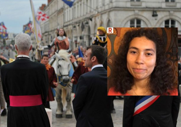 France's first mixed-race Joan of Arc hit by torrent of racist abuse