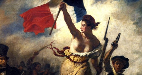 Facebook sorry for blocking bare-breasted French icon