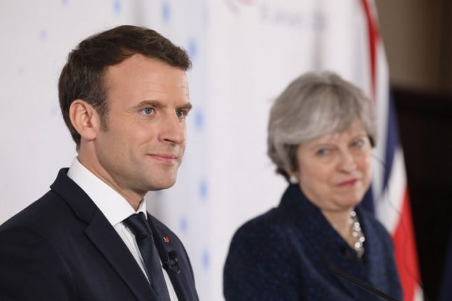 France's Macron blasts 'unacceptable attack' on ex-spy in UK
