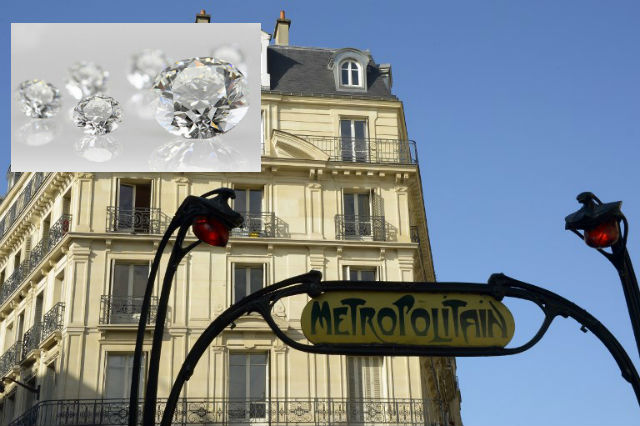 Paris Metro station heist sees thieves steal €300,000 of gems from Indian dealers