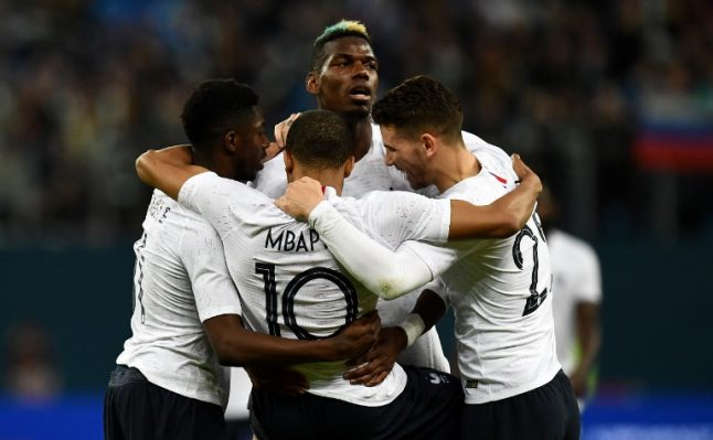 French minister blasts racist Russian chants against France's black players