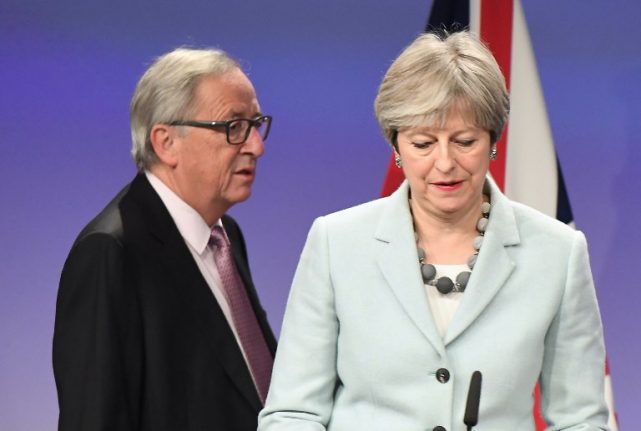Time to turn Brexit speeches into treaties, EU chief Juncker tells Theresa May