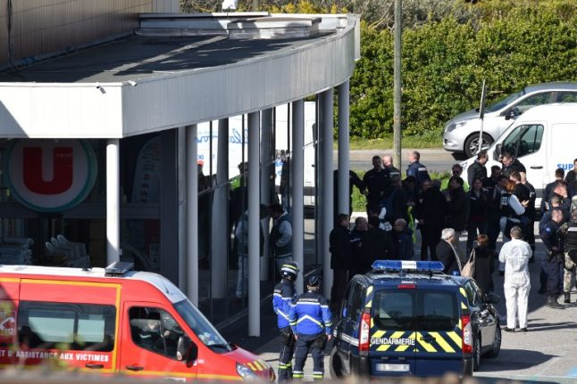 Three dead after jihadist goes on shooting rampage in southern France