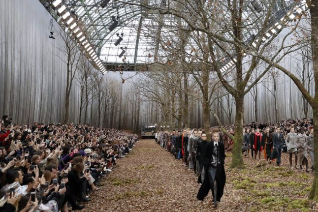 Chanel blasted for felling 'century-old' French trees in the name of fashion