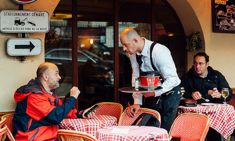 'Not rude, just French': Fired waiter claims discrimination against his Gallic culture