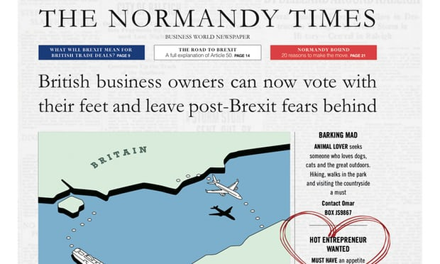 'Vote with your feet': London bans French ad campaign to lure UK firms after Brexit
