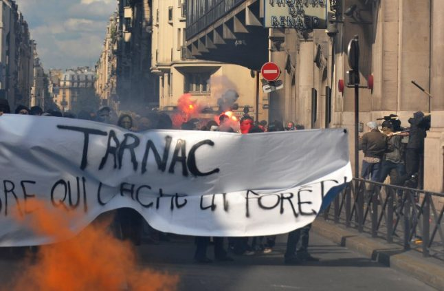French 'anarchist cell' faces trial over TGV train sabotage claim