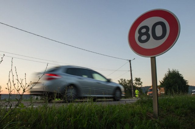 France to cut speed limit on roads to 80km/h in July despite opposition