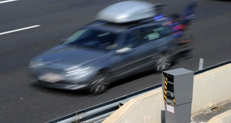French driver faces prison for giving middle finger to speed cameras