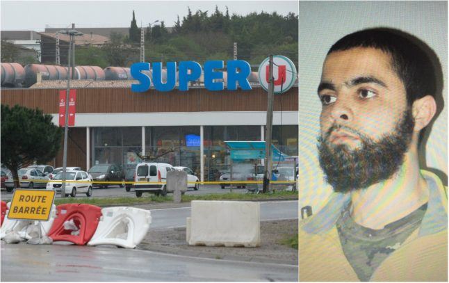 What we know about the gunman in French supermarket attack