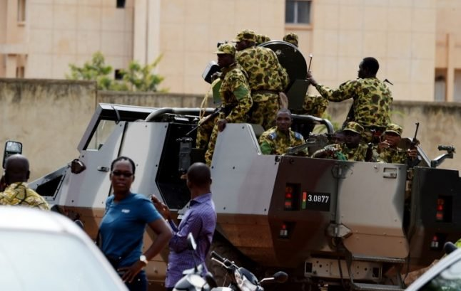 French embassy targeted in terror attack in Burkina Faso