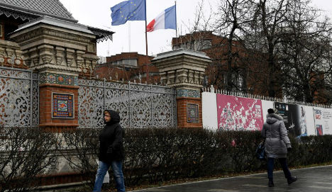 Russia expels four French diplomats in tit-for-tat response