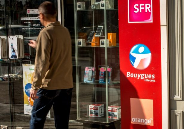And the 'worst' mobile phone and internet operator in France is?