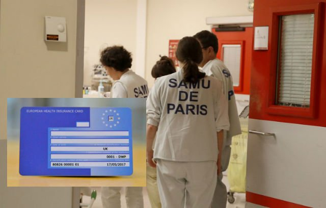 Fears Brits could lose right to free urgent health care in France after Brexit