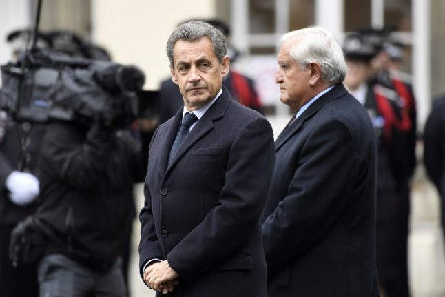 Ex-French President Nicolas Sarkozy hauled in by police for grilling... once again