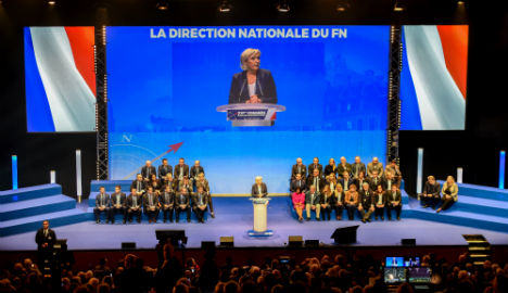 Le Pen plans to change party name from National Front to National Union