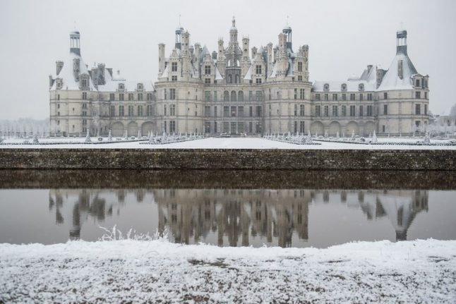 France set for wintry weekend with snow forecast for the north