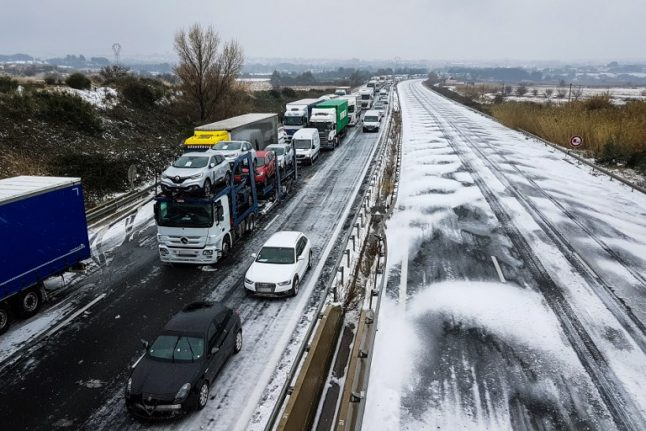 Update: South west and western France on alert for snow and ice