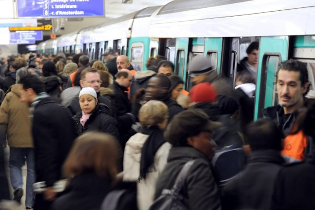 Paris commuters face Metro and RER transport strike
