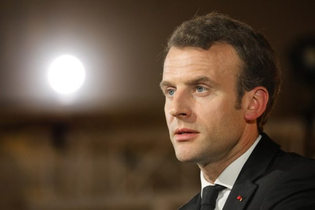 Macron sparks uproar in France with church remarks