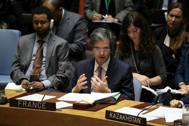 US, France, Britain launch new UN bid for Syria chemical weapons probe