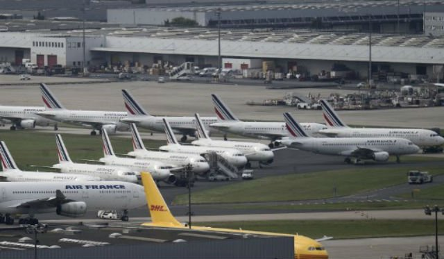 Air France cancels 25 percent of flights on Monday due to strike action