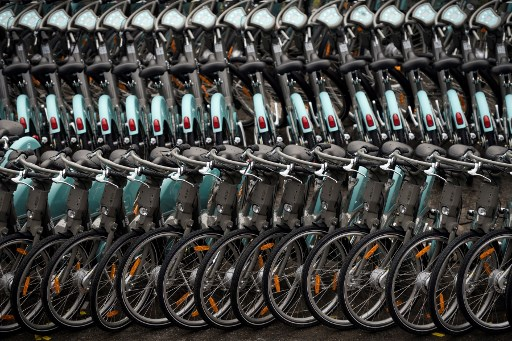 Road to nowhere: Paris's electric bikes are off the grid and running out of power
