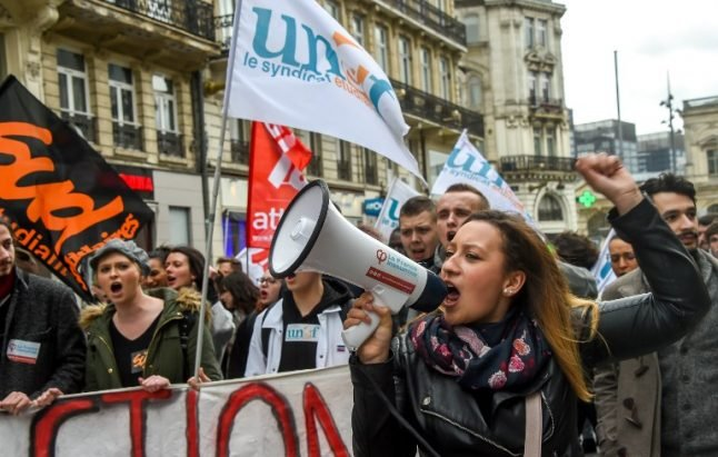 As strikes and student protests mount, is France heading for a rerun of May 68?