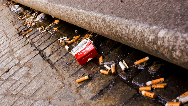 France looks to tobacco companies for help in cigarette butt clean-up blitz