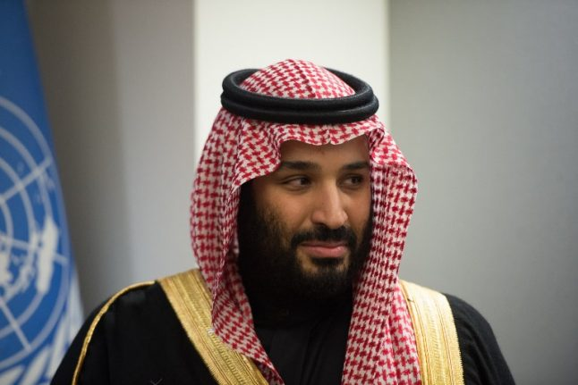 Saudi crown prince to visit France in whirlwind global tour