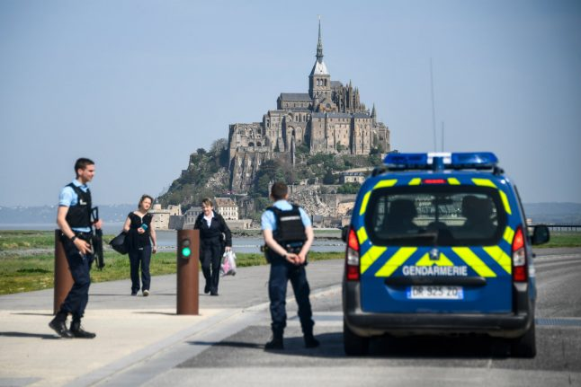 France's Mont Saint-Michel evacuated as man threatens police