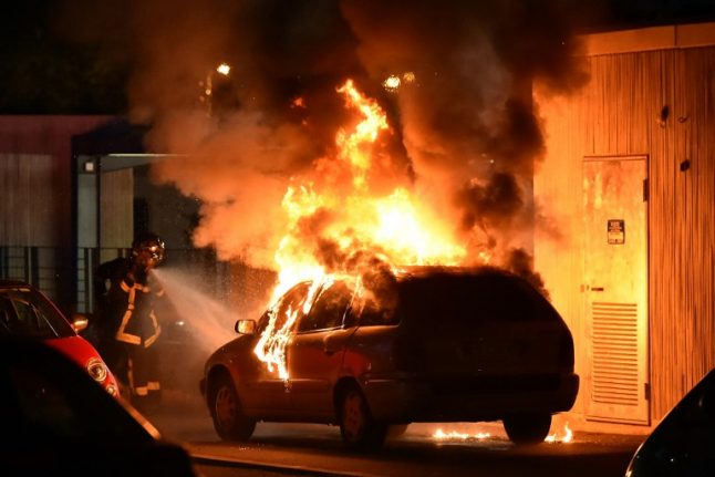 What exactly sparked the ongoing riots in a Toulouse neighbourhood?