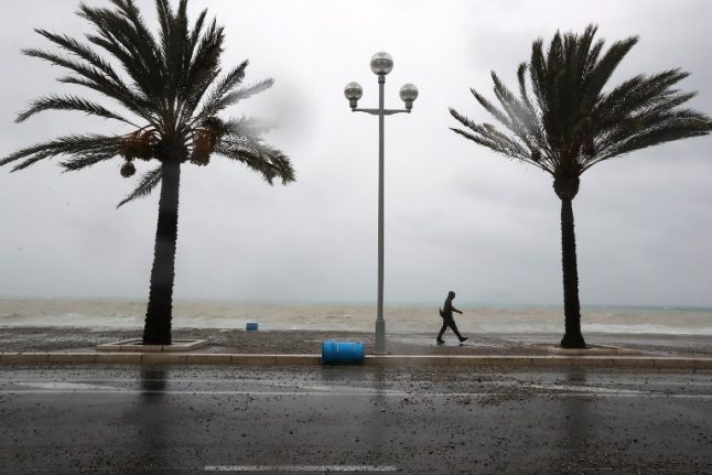 French Riviera on alert as 'severe' thunderstorms approach