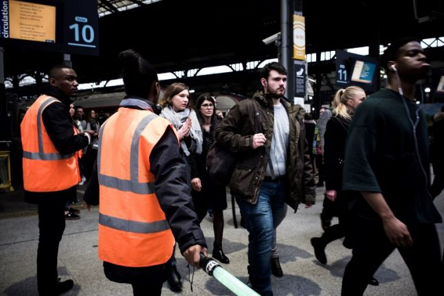French rail strike hits Monday services and leaves SNCF with '€100 million' bill...so far