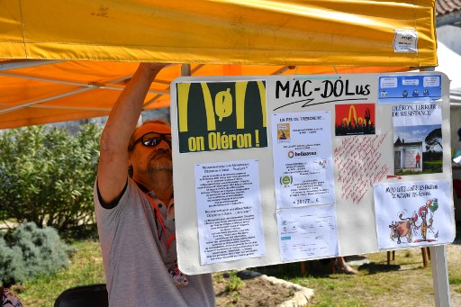 French town wages food war on McDonald's with healthy spoof eatery