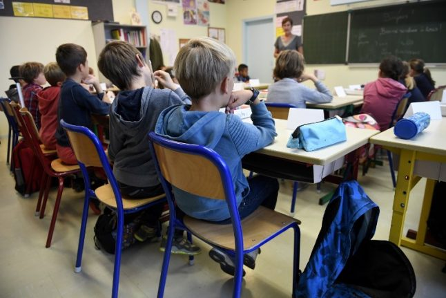 Why are French school pupils so afraid of answering in class?