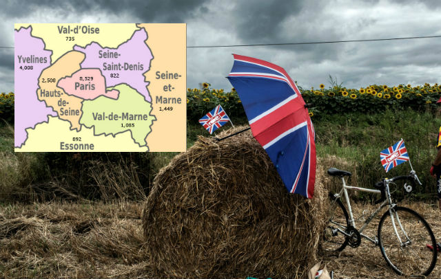 Department by department: Where in France are all the Brits living?