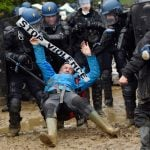In Pictures: The muddy and bloody battle in the fields of western France