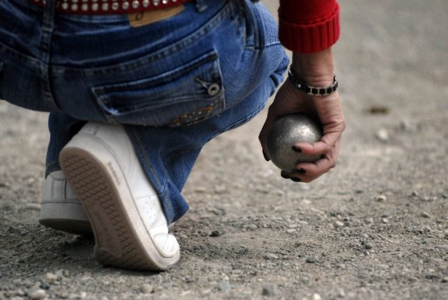 France's rebellious boules players told to leave jeans at home