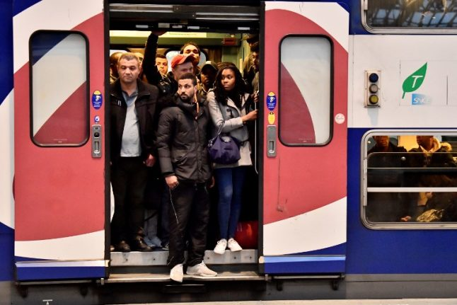 Latest French rail strike hits train services on Wednesday