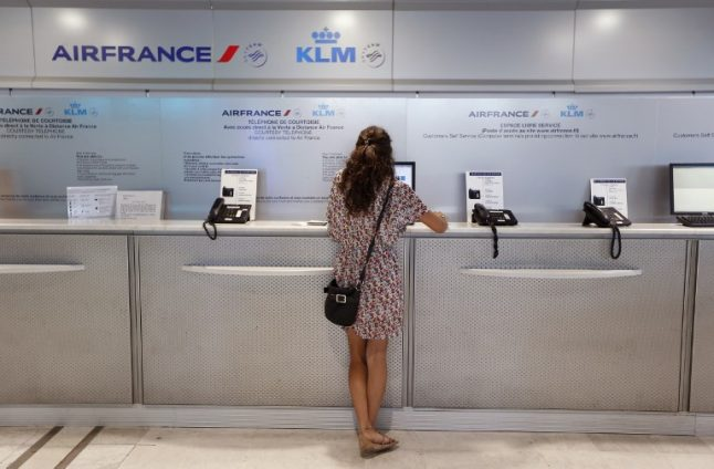 Air France cancels one third of flights due to strikes