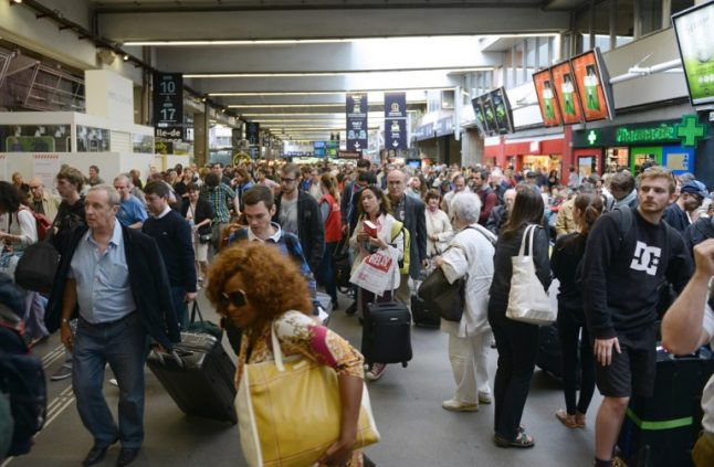 How can the French get to work during the rail strikes?