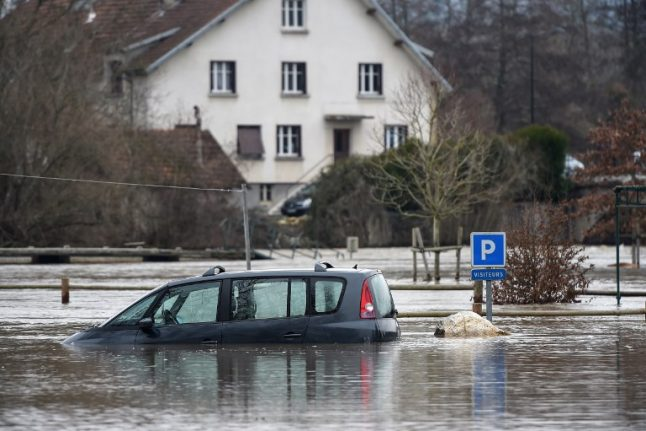 Parts of northern France on alert for heavy rain and flooding